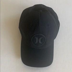EUC Buckle black baseball hat S/M